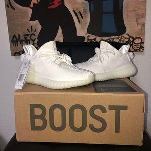 Adidas Yeezy Boost 350 Cream White Size 5 Womens